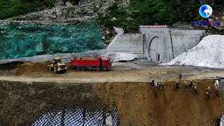 GLOBALink | Highway through world's deepest canyon completed in Tibet