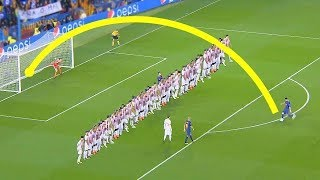 Hervorragend.. 12 unerwartet Freistoß im Fußball!