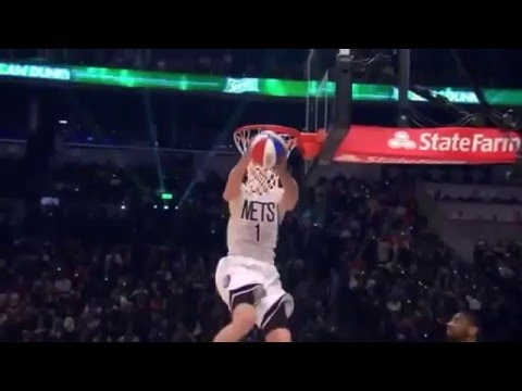 Mason Plumlee - 2015 NBA Slam Dunk Contest