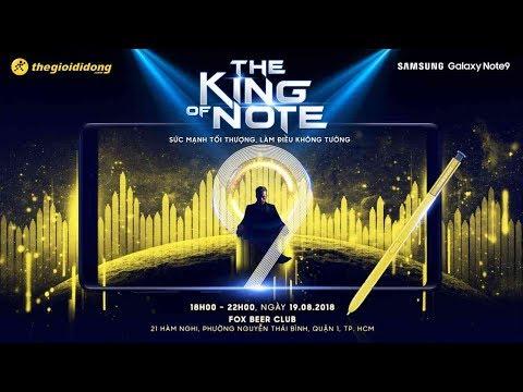 Trực tiếp sự kiện | The King of Note - Sức mạnh tối thượng, làm điều không tưởng