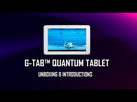 G-Tab Quantum QuadCore Tablet PC  - Unboxing And Introduction