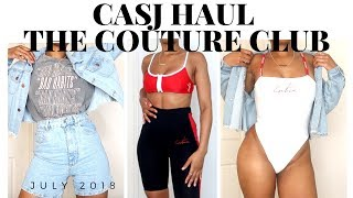 CASUAL STREETWEAR SUMMER HAUL | THE COUTURE CLUB | JULY 2018 | SARAHJOHOLDER