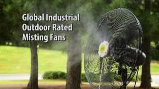 Global Industrial Outdoor Misting Fans