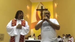Testemunho emocionante na Igreja de São Jorge em Quintino. 23/08/2014