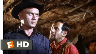 The Magnificent Seven (11/12) Movie CLIP - Surrendering to Calvera (1960) HD
