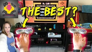 $15 BUDGET Wireless SNES MINI Controllers - A CHEAP Alternative to 8bitdo Controllers? | TheGebs24