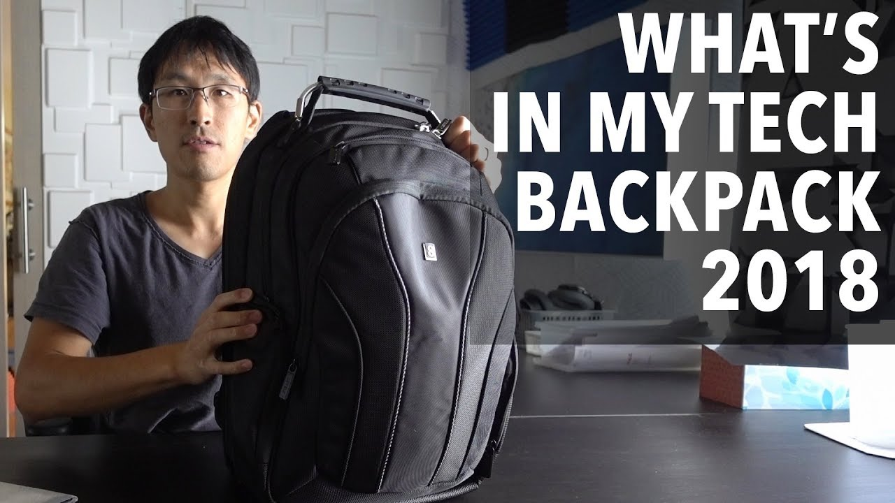 What's in my tech backpack in 2018 (Level 8)? (ex-Google software engineer gets you setup)