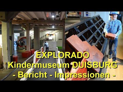 EXPLORADO Kindermuseum DUISBURG - Bericht - Impressionen - SO SCHLAU MACHT SPASS!