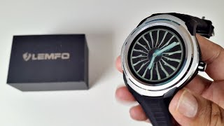 2017 Full Android Smartwatch - LEMFO LF17 Smartwatch Review  - QUAD CORE - 4GB