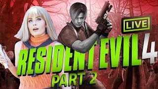 Resident Evil 4 (Part 2) Ashley saved by Ashley Cosplayer