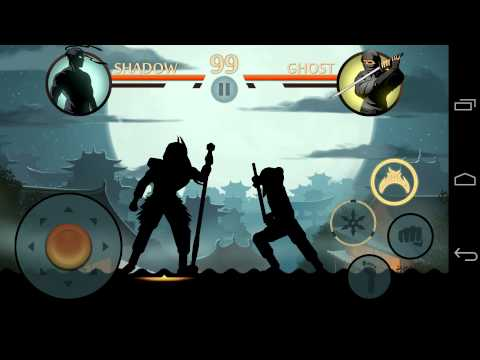 Shadow Fight 2: Chapter 01 - Defeating Lynx.