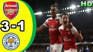 ARSENAL 3-1 LEICESTER CITY | All Goals & Highlights Premier League 23 Oktober 2018