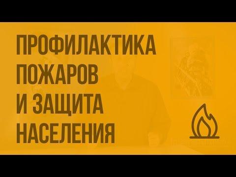 Видеоурок пожары обж 8 класс