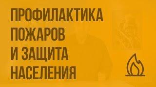 Профилактика пожаров в повседневной жизни и организация защиты населения. Видеоурок по ОБЖ 8 класс