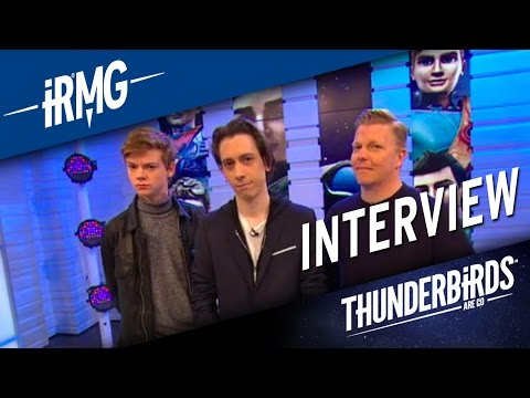 iRMG   Good Morning Britain interviews the Tracy Brothers   Thunderbirds Are Go