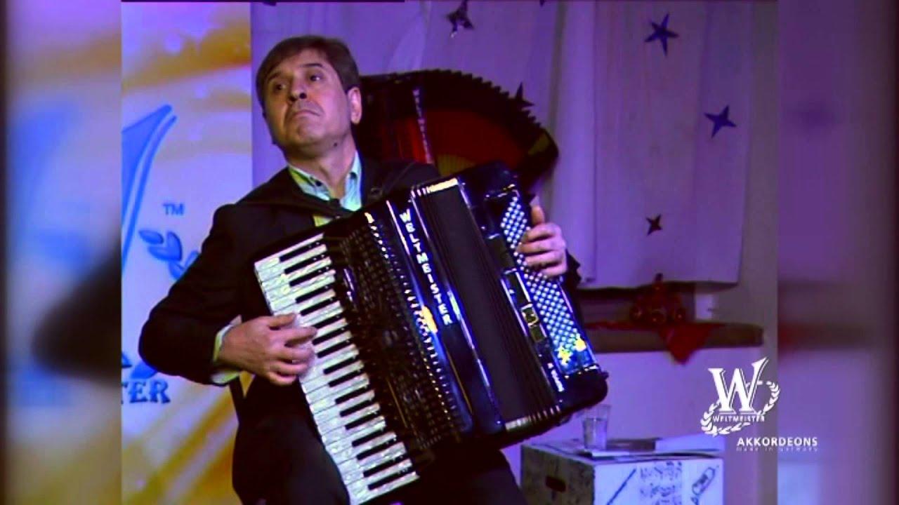 Petar Ralchev in der Harmona Akkordeon GmbH - YouTube