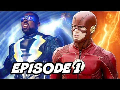 Black Lightning Episode 1 - The Flash Arrowverse Easter Eggs Explained