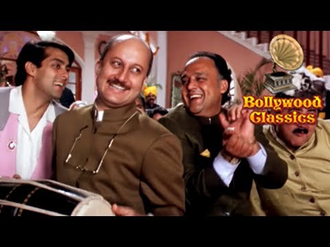 Aaj Humaare Dil Mein - Lata Mangeshkar & Kumar Sanu Best Romantic Duet - Hum Aapke Hain Koun