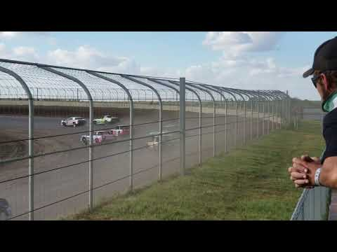 9-16-18 Junction Motor Speedway IMCA Stock Car Heat Kyle Dumpert