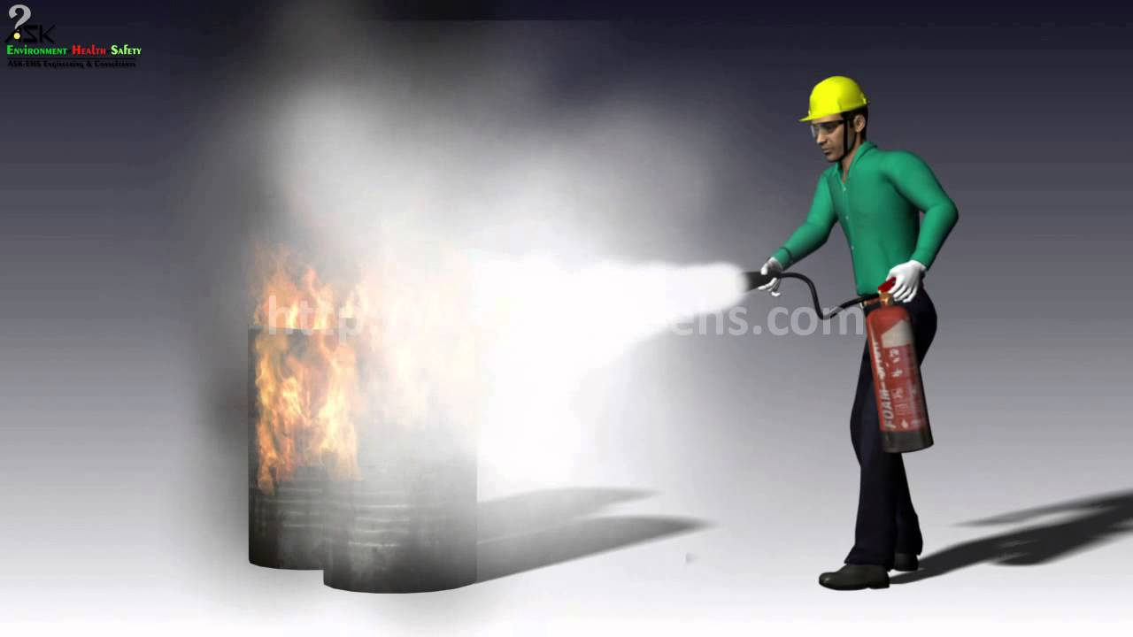How To Operate Fire Extinguisher