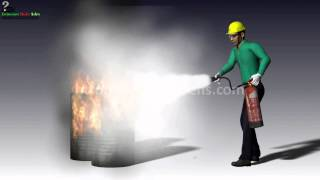 """How to Use a Portable Fire Extinguisher Training Video"" icon"