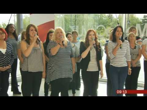 The Fishwives Choir Live Performance On BBC Breakfast 12.8.13