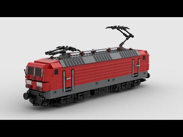 Lego Br 143/243 Speeddesign (MOC)