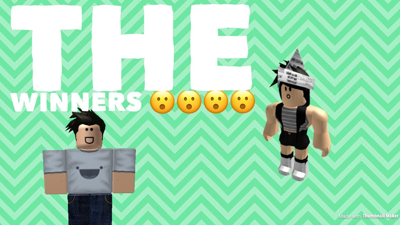 roblox character animate draw winners robux