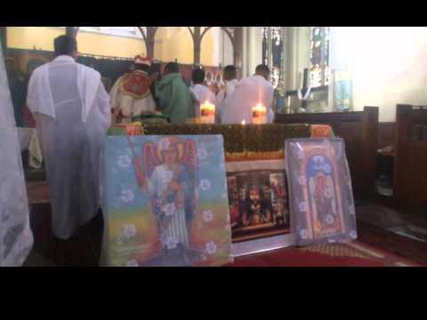 EOTC - Tserha Tsion Qedist Mariam (St Mary of Zion) Kidase Abiy Tsome Week 5 (gebre here) PT.1