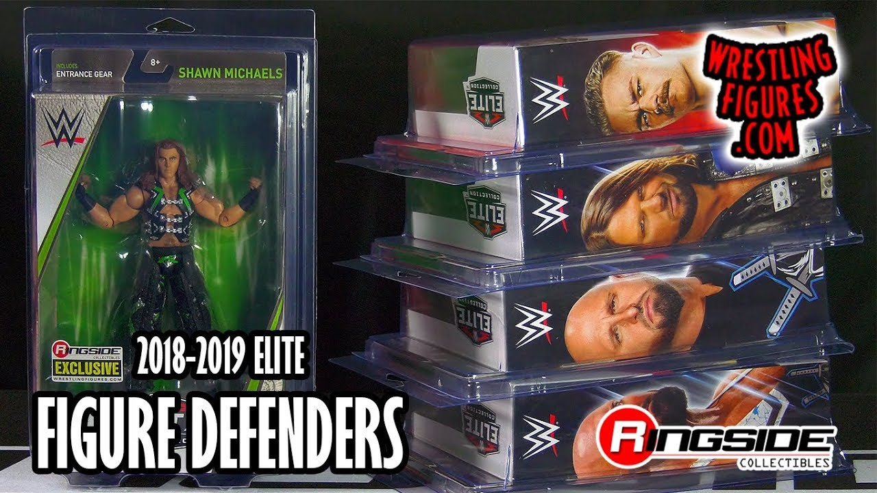 "Protective Case /""Figure Defender/"" Set of 10 - Multi-Purpose"
