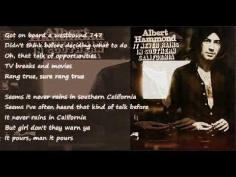 Albert Hammond - When I'm Gone w/Lyrics - YouTube