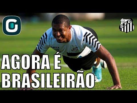 Santos Se Prepara Para Brasileirão Contra Ceará- Gazeta Esportiva (09/04/18)