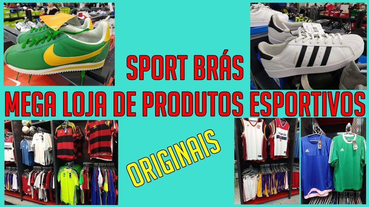 aaede92339 Sport Brás - Mega Loja de Produtos Esportivos no Brás - YouTube