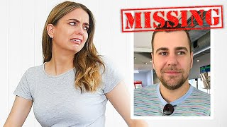 Going MISSING PRANK on Girlfriend! SHE CRIED :(