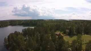 Aerial footage from Tampere camping with DJI Phantom 2 Visio