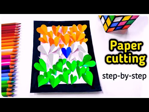 Independence day craft | Paper Craft | independence day art | DIY