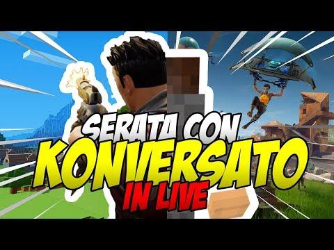 🔴Serata Con Konversato In Live!💣