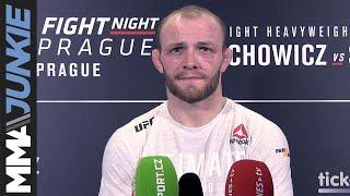UFC Prague: Chris Fishgold post-fight interview