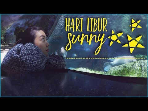 VLOG: HARI LIBUR SUNNY   Main2 ke Aquarium, Shopping & BANYAK LAGI!