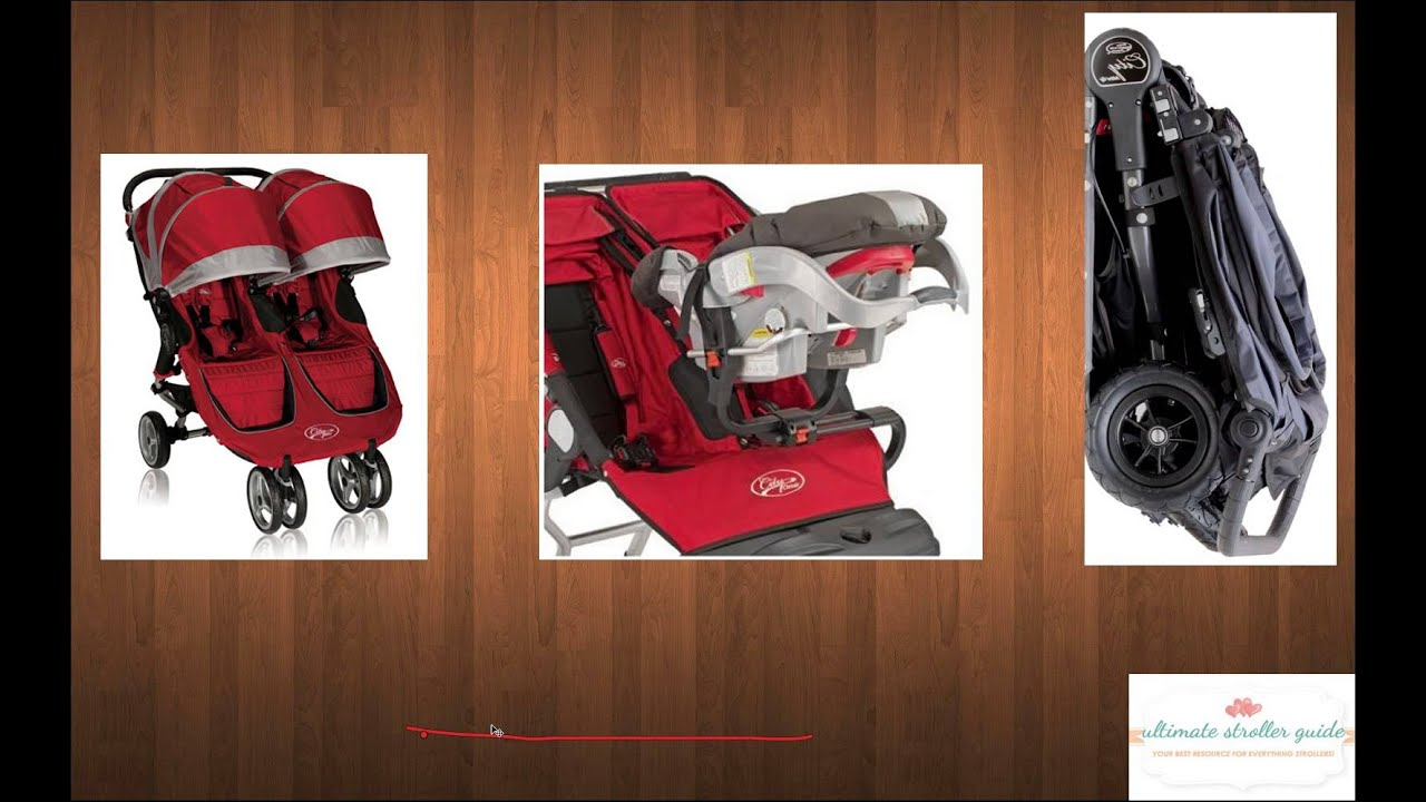 City Mini Double Stroller Overview Youtube