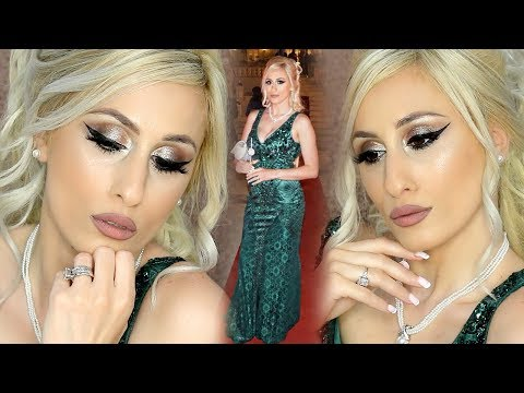 MAKEUP TUTORIAL || What To Wear with an Emerald Green Dress || w/ Exclusive Malta