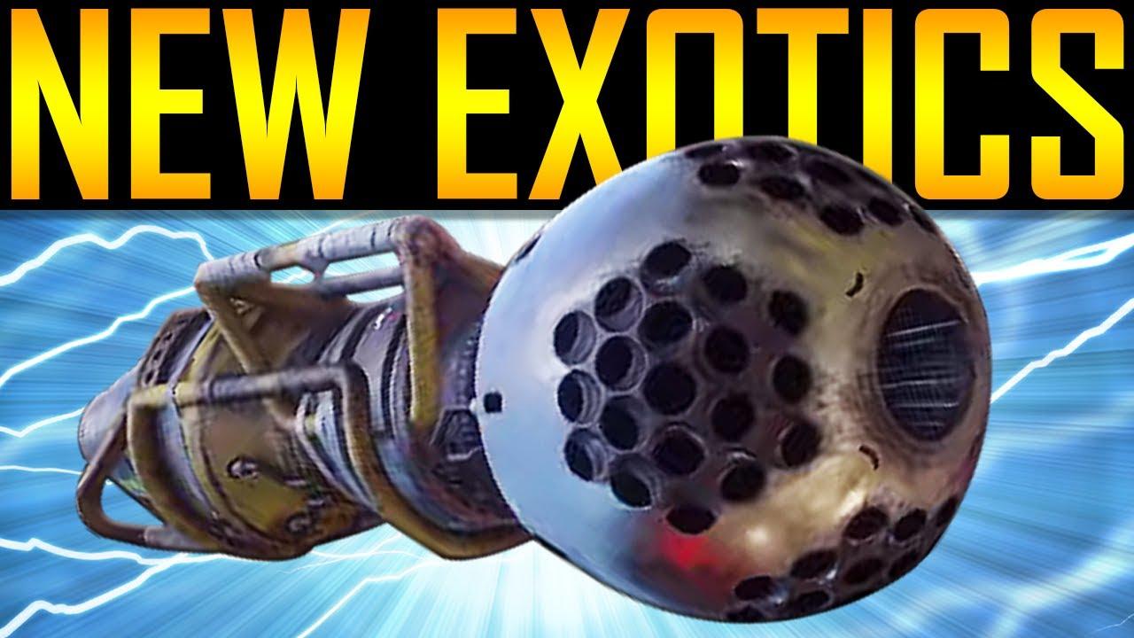 destiny 2 how to get level 20 exotics