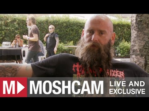 Five Finger Death Punch talk circle pits, guitars and Gene Simmons' face (at Soundwave) | Moshcam