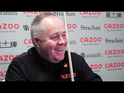 Flawless Higgins Whitewashes Selby 546-7 😳 | 2021 Cazoo Players Championship Quarter Final Interview