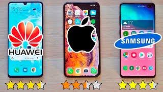 P30 Pro Vs Galaxy S10 Vs Iphone Xs Max  El Mejor Movil 2019