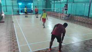 Download Mp3 Pertandingan Badminton antara Kabag Irwan Ujang Gatot Vs Hen Kato Rio Di Hall Kemenag Sumbar