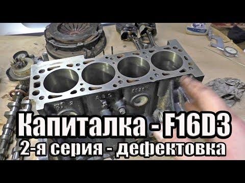 Фото к видео: Капиталка Aveo, Cruze, Lacetti 1.6 - F16D3. Часть 2. Дефектовка Двигателя.