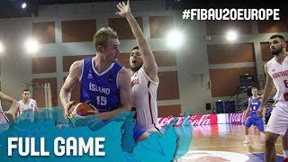 Montenegro v Iceland - Full Game - FIBA U20 European Championship 2017