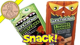 Kraft Lunchables - S'mores Dippers & Dirt Cake Snacks