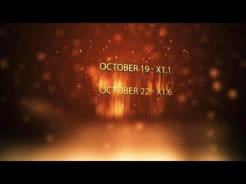 Multiple X-class flares, high solar activities!! (October 19/22, 2014)